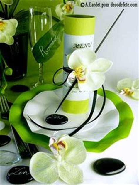 une d 233 co de table parfaitement coordonn 233 e mariant blanc et vert anis http www decodefete