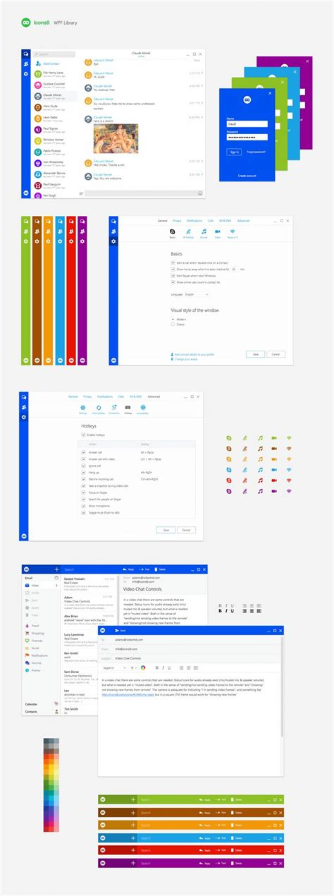 windows ui kit for sketch and photoshop https