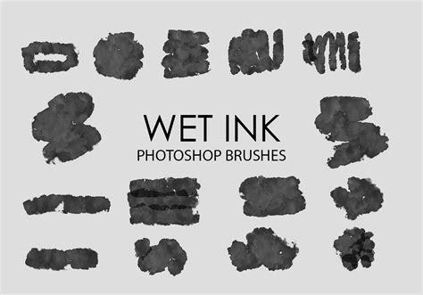pattern wet brush free wet ink photoshop brushes 4 free photoshop brushes