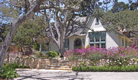 carmel by the sea fairy tale cottages of hugh comstock