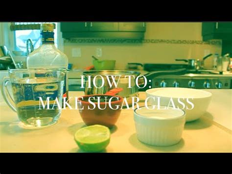how to make sugar glass how to make sugar glass