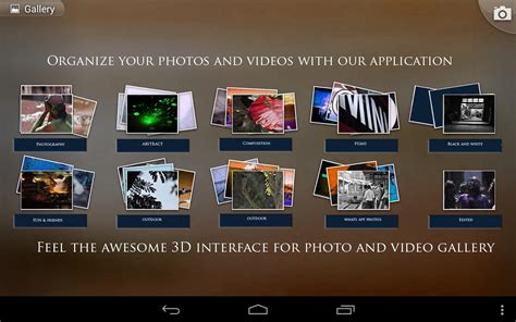 3d app android photo gallery 3d hd android apps on play