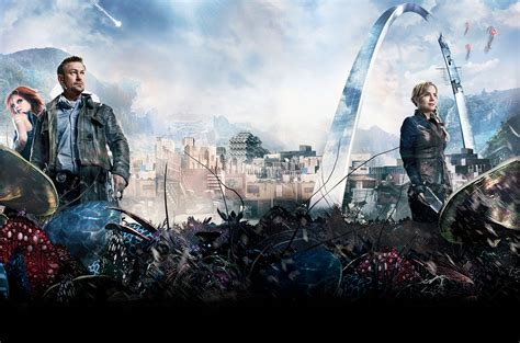 defiance tv series finale defiance and dominion renewed by syfy nerdcore movement