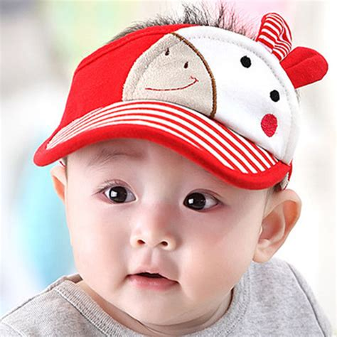 summer style baby baseball cap infant boy