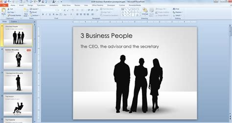 themes for powerpoint secretary free businessman silhouettes for powerpoint presentations