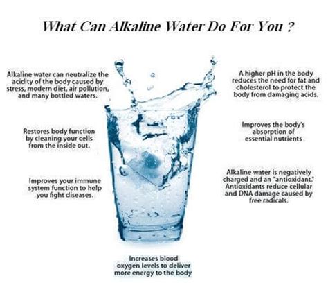 miraculous health benefits of alkaline water aww