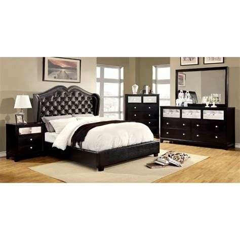 furniture of america cathey 4 piece california king canopy furniture of america harla 4 piece california king bedroom set idf 7016bk ck 4pc