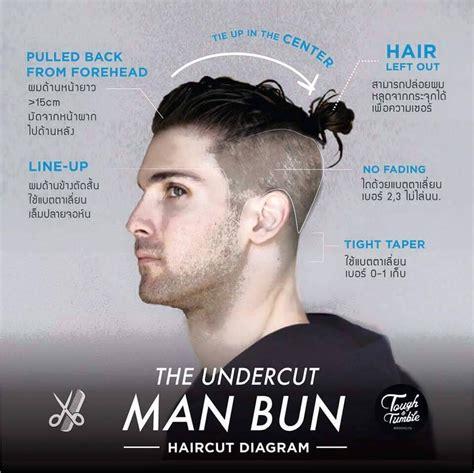 clip on top knot for men man bun undercut hairstyles pinterest man bun