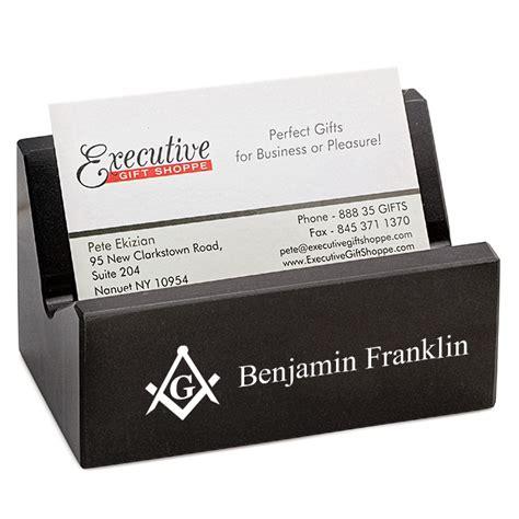business card desk holder masonic desktop business card holder masonic gifts