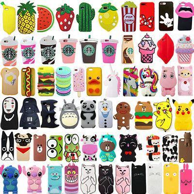 hot  cute cartoon soft silicone phone case cover
