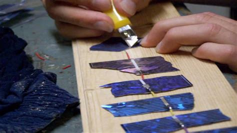 how do you make a solar panel at home make a solar panel from broken cells