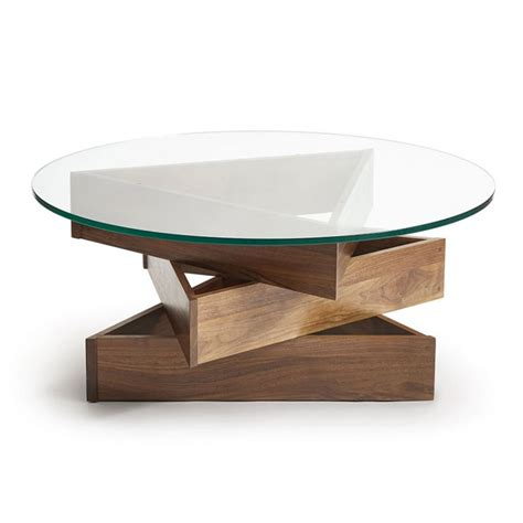 Twist Coffee Table 107 X Twist Walnut Coffee Table By Copeland Furniture Vermont Woods Studios