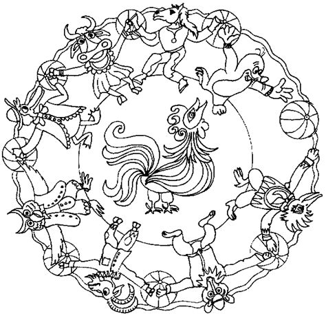 mandala coloring pages of animals coloring page mandala animal coloring pages 57