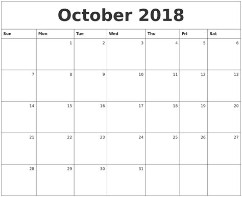 printable calendar 2018 october may 2018 calendar