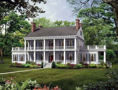 southern colonial house colonial southern house plan 95218