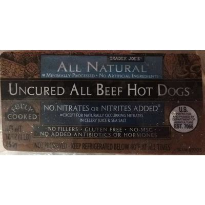 uncured dogs top 50 most popular