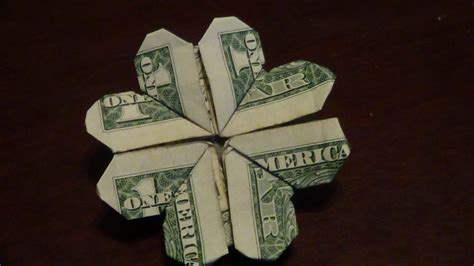 Money Origami Shamrock - free coloring pages dollar origami shamrock tutorial how