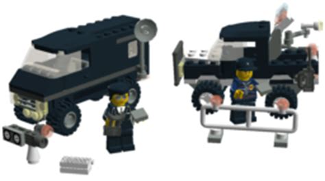 Special Lego World City 7032 4wd And Undercover brickshelf gallery 7032 police 4wd and undercover van