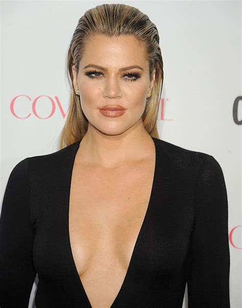 khlo 233 s and kourtney khloe sports slicked back hair and slim fit
