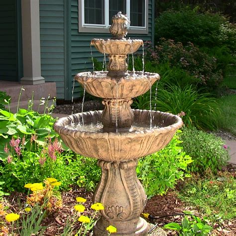 decorative outdoor water fountains ideas great home