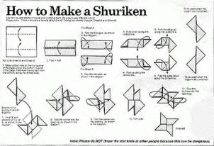 How To Make A Paper Ninga - origami