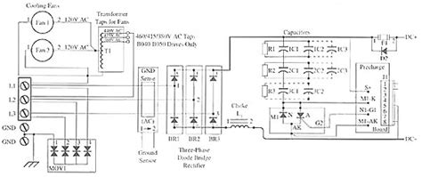 power supply for a variable frequency motor drive