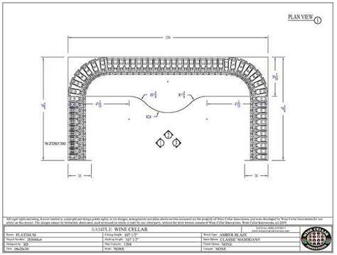 plan view find wine cellar rack plans wine rack plans here