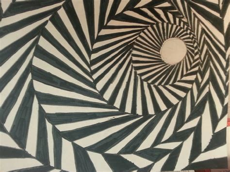 pattern principle of art mrs higa s art class optical illusions