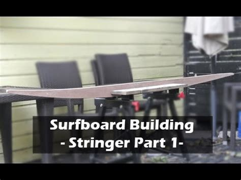 making a surfboard template a surfboard stringer template part 1 how to build