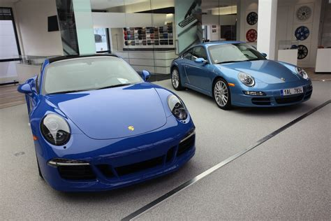 pca members take european delivery of porsche 911 gts club