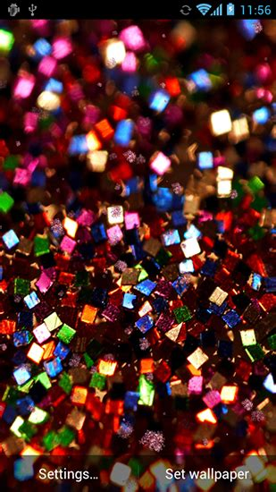 live wallpaper for android mobile hd glitter by hd live wallpapers free live wallpaper for