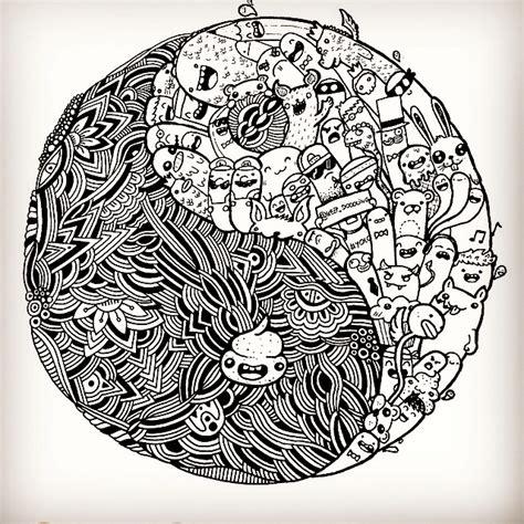doodle yang yin and yang doodle by vinceokerman on deviantart