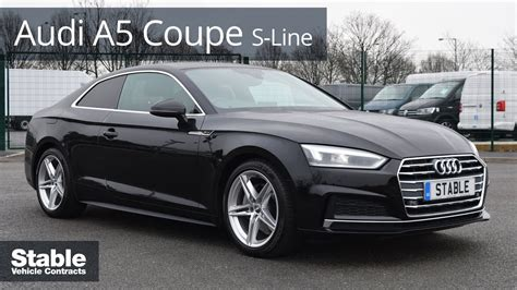 audi a5 coupe s line 2017 audi a5 coupe s line walk around 4k 2 0 tdi 190ps