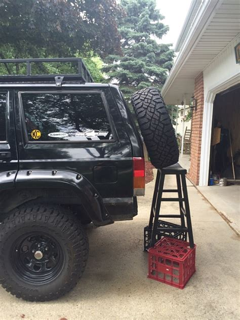 swing out kelly4 s rear bumper and swingout tire carrier build