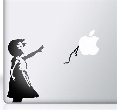 Decal And Sticker Macbook Balon sticker mac apple fille ballon tenstickers