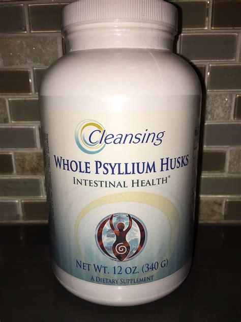 Psyllium Husk Detox by Whole Psyllium Husk Powder Cleansing Concepts Colon