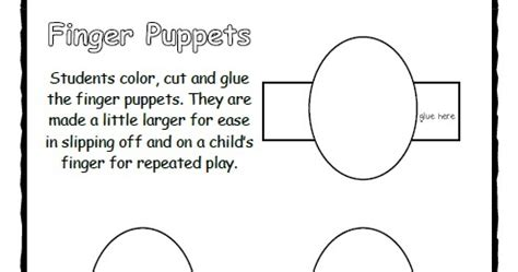 frog finger puppet template lil country librarian what can you make with this finger