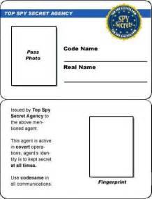identification card template credit card id card