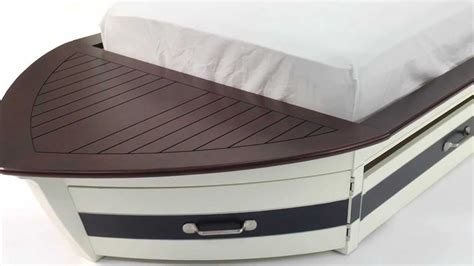 full size boat bed give the kids room a nautical look with these speedboat