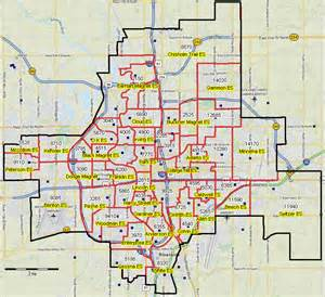 Wichita Zip Code Map wichita kansas attendance zone demographics