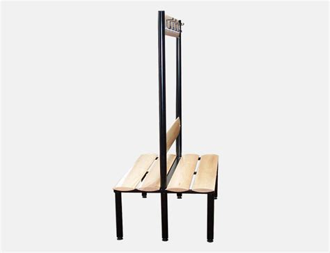 free standing bench cloak room changing room benches probe lockers