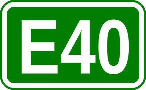 a e european route e40 wikipedia
