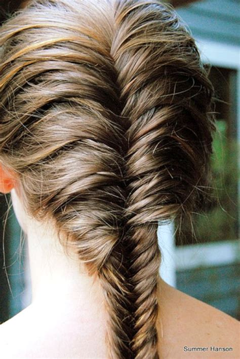 history of fishtail braid hair pictures of beautiful french fishtail braid for long hair