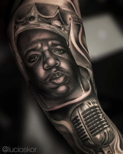 biggie smalls tattoo biggie smalls tattoos biggie