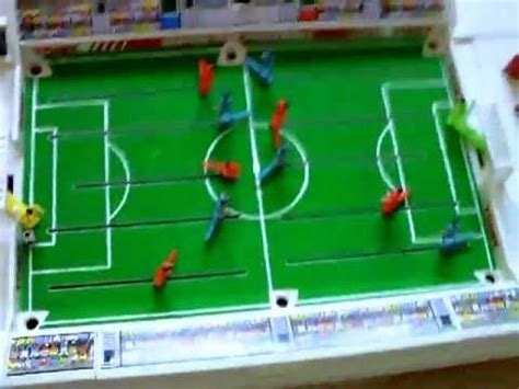 electronic table football tomy cup football 1980s 90s