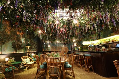 Sketches Restaurant by Mayfair S In Bloom At Sketch S Flower Show