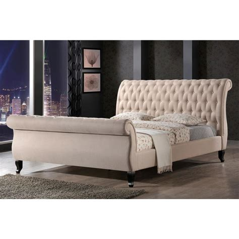 luxeo nottingham sand king sleigh bed lux k6317 222 the