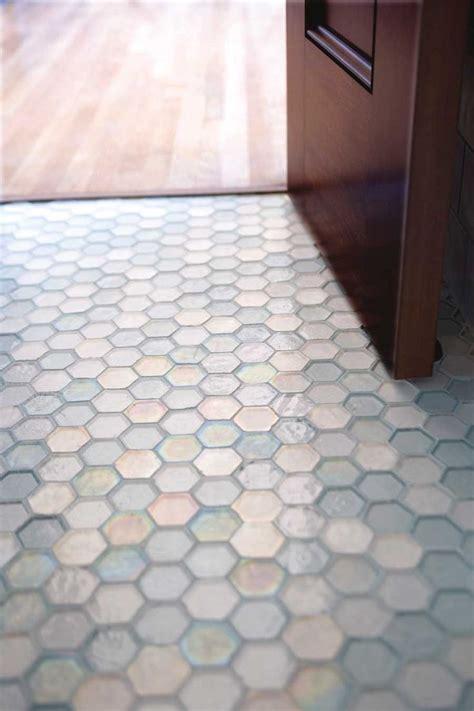 glass floor tiles bathroom best 25 honeycomb tile ideas on tile hexagon