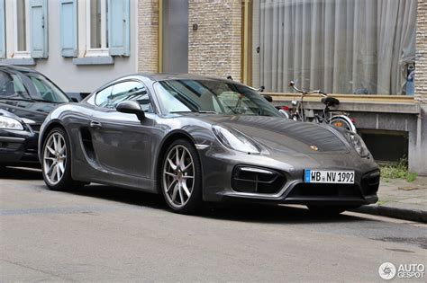 porsche cayman 2015 grey porsche 981 cayman gts 16 july 2015 autogespot