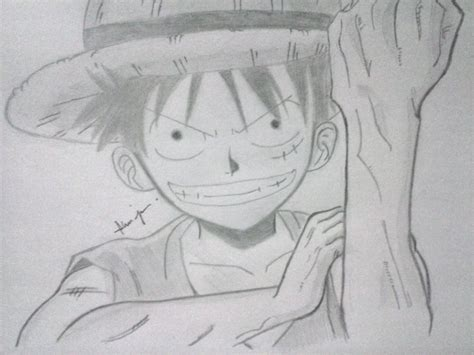 Luffy drawing bawshi94 169 2015 dec 7 2013